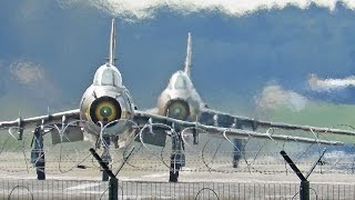 AWESOME LOUD Departure Sukhoi  Su-22 Polish AF at Kleine Brogel