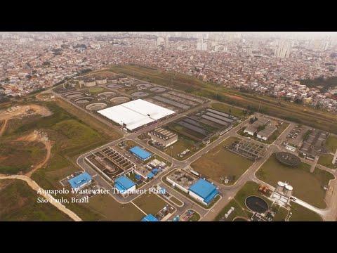 Aquapolo Wastewater Treatment Plant – São Paulo, Brazil