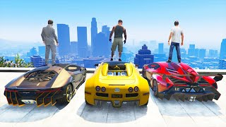 GTA 5 Stealing Super Cars with Franklin #2 (GTA 5 Expensive Cars)