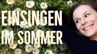 Stimme aufwärmen mit sommerlichen Einsingübungen - Einsingen für den Chor   singdu.de