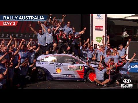 Rally Australia Day Three - Hyundai Motorsport 2017