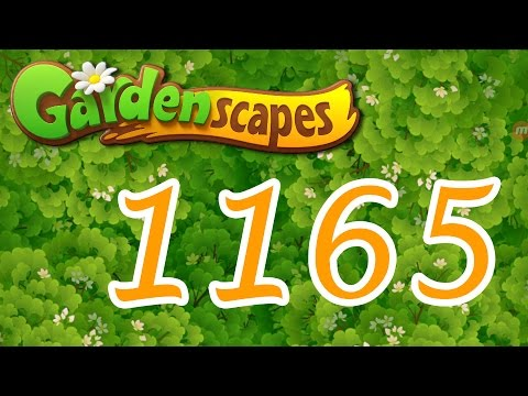 Gardenscapes level 1165