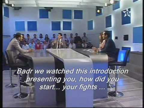 Badr Hari, Moroccan tv show part 1/6 english subtitle .