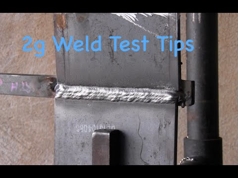 Stick Welding Tips- 7018 2g Plate Test