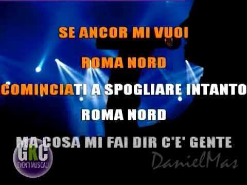 Umberto Tozzi Roma Nord  karaoke instrumental