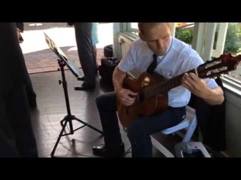 Bridal entrance acoustic guitar - Mark Chivers