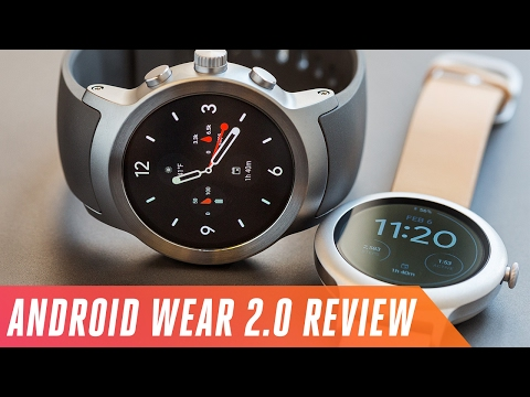 Android Wear 2.0 review on LG's new watches