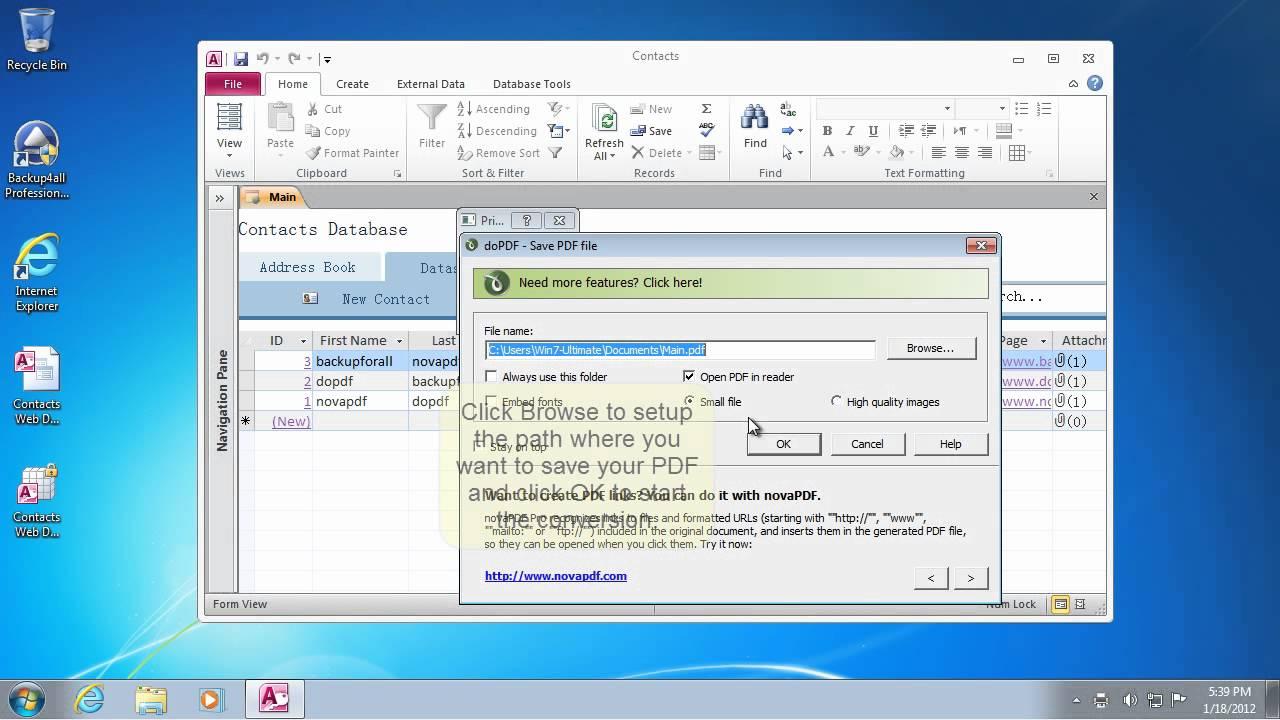 Microsoft Access 2007 Programming Pdf