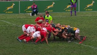 U18 Rugby | SA Schools  vs Wales | Highlights