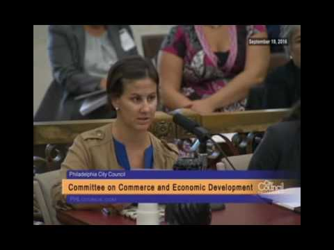 Committee on Commerce and Economic Development 9-19-2016