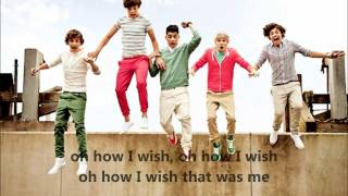 I Wish - One Direction (with lyrics on screen)