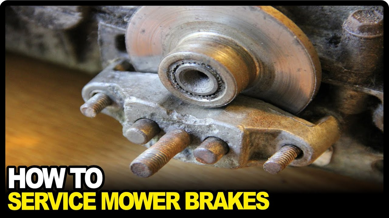 Murray Lawn Tractor Brakes : How to service lawnmower brakes youtube
