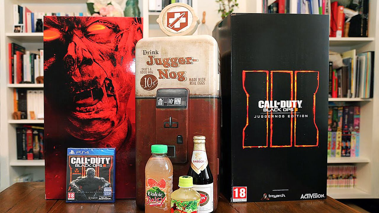 Notre unboxing du frigo CALL OF DUTY Black Ops 3 !