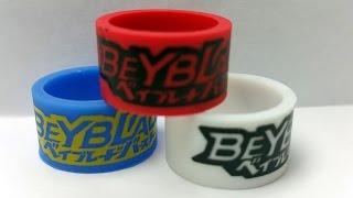 Beyblade Burst ベイブレードバーストB 00 WBBA Finger Band Review