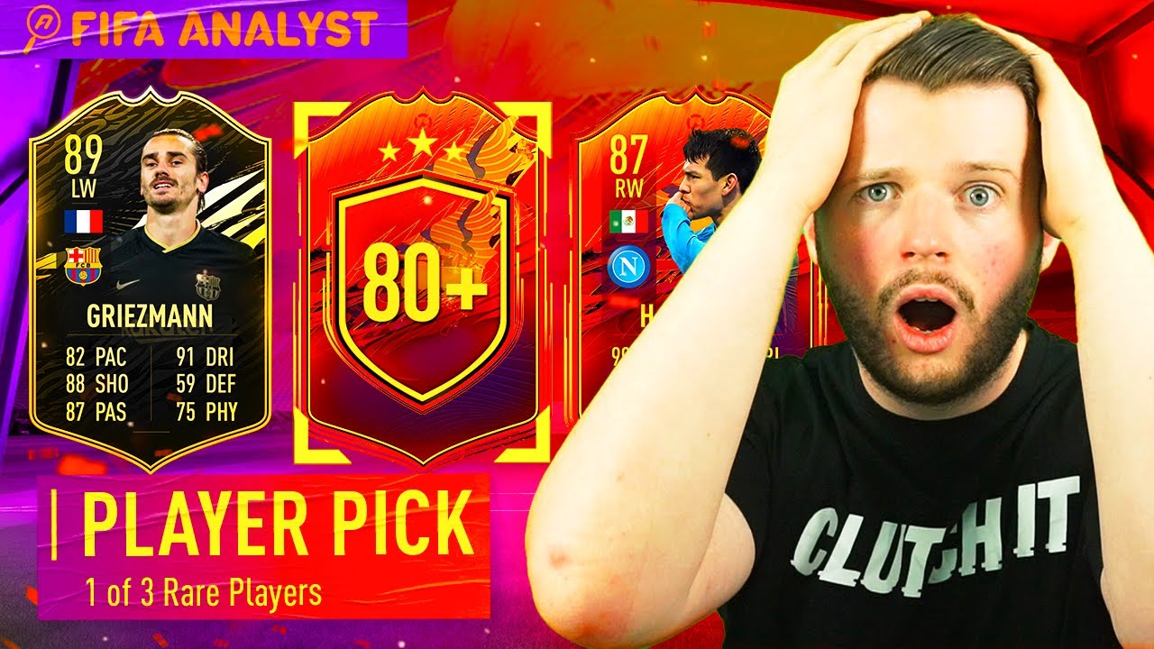 50 x Player Picks & 86+ Pack and a MASSIVE pull! | 50x Player picks FIFA 21 |