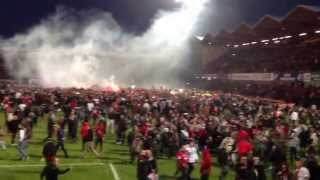 Envahissement stade de Roudourou 24 mai 2013