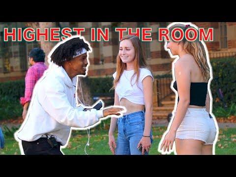 Singing 'HIGHEST IN THE ROOM' In Public