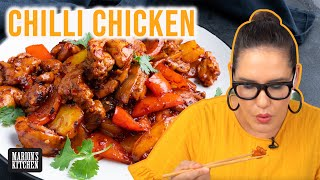 How to choose tнe best wok for YOU + my favourite CHILLI CHICKEN recipe | Marion's Kitchen