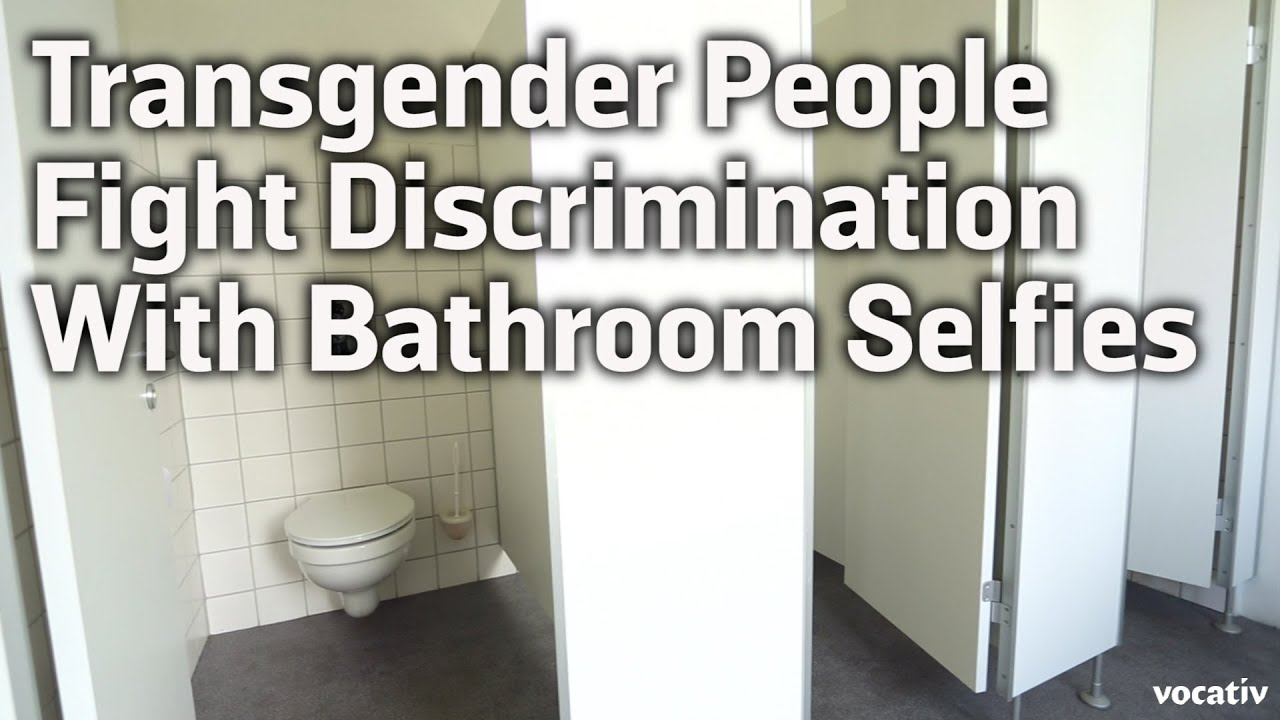 Transgender people fight discrimination with bathroom - Transgender discrimination bathroom ...