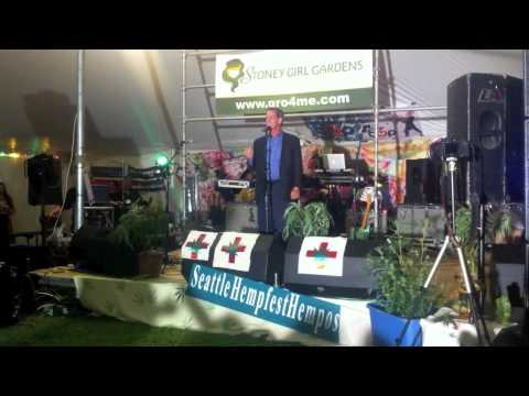 Roger Goodman at Seattle Hempfest 2011