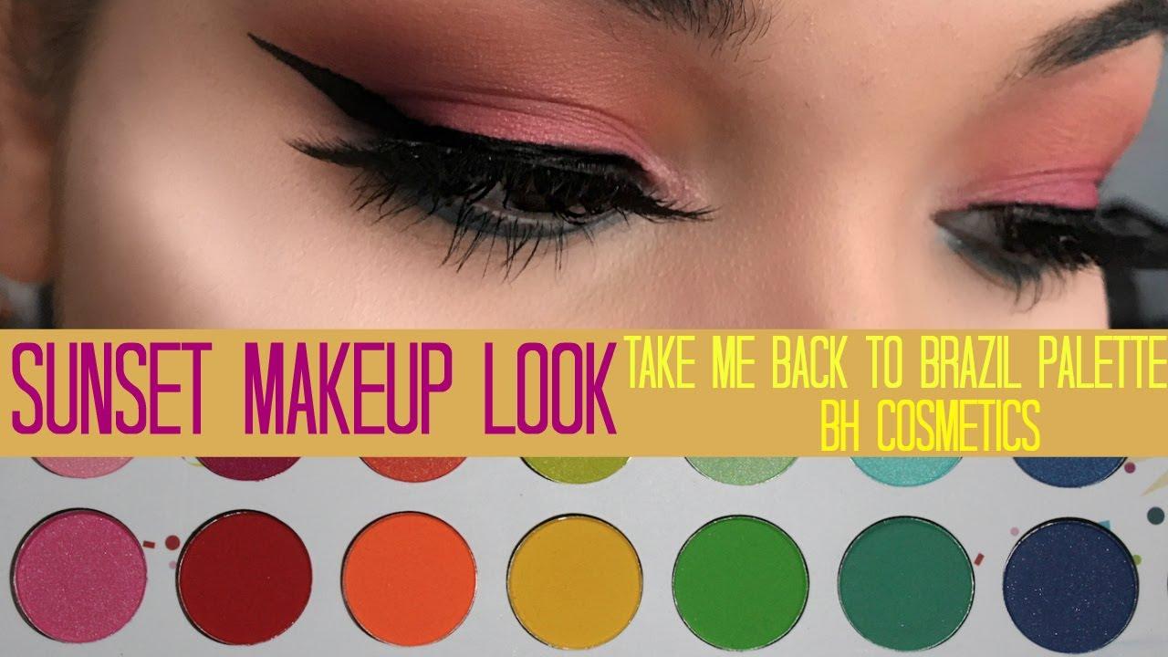 take me back to brazil palette tutorial bh cosmetics youtube. Black Bedroom Furniture Sets. Home Design Ideas