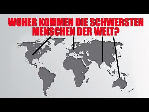 Das wiegen Menschen in anderen Ländern!