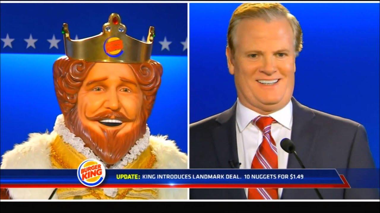 Burger King Debate Commercial