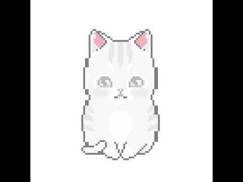 Pixel Art Chaton Youtube