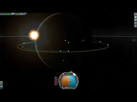 KSP Docking With Space Station