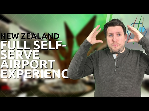 Air New Zealand Self Serve Experience