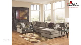 Ashley Jessa Place 3 Piece Sectional With Chaise (APK-39802-R3) | KEY Home