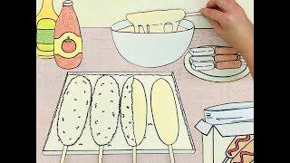 고소한 치즈핫도그 만들기 스톱모션!! #셀프키친 :: 셀프어쿠스틱