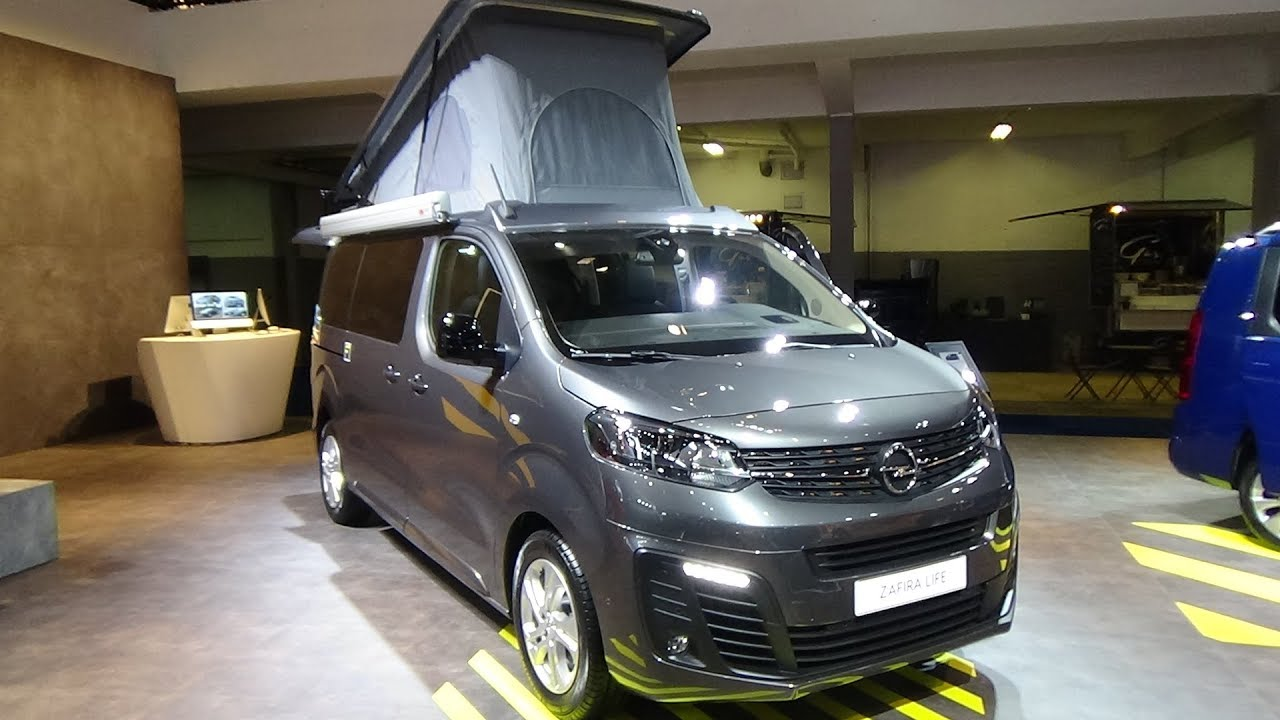 2020 Opel Zafira Life 2 0 Medium Edition Camper Exterior And Interior Auto Show Brussels 2020 Youtube