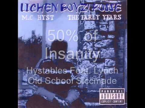 50% of Insanity  19921993  Hystables feat. Lynch