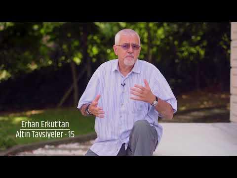 Prof. Dr. Erhan Erkuttan 15 Altın Tavsiye - 15