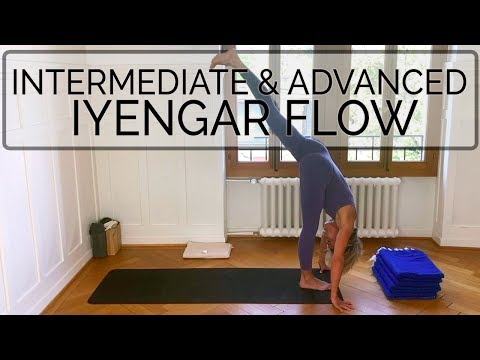 iyengar-yoga-flow:-vitality-&-strength.-cdr.-oyt-#intermediateyogaflow-#advancedyogavideo