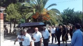 Κηδεία Μάνου Αντώναρου