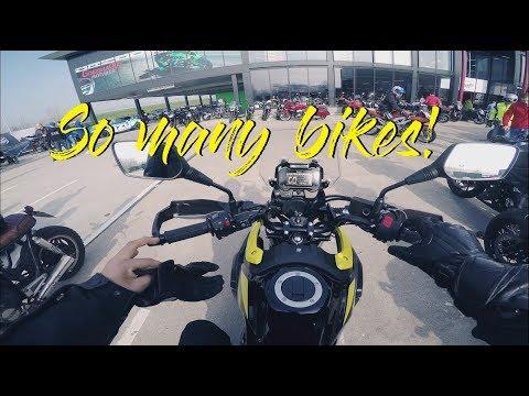 Suzuki Challenge - Angels & Heroes tour // V-Strom 250 test ride (4k)