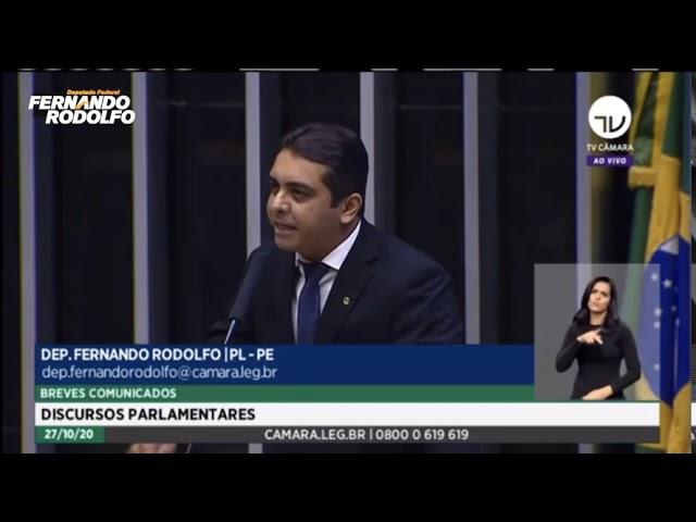 Fernando Rodolfo defende professores na Câmara dos Deputados