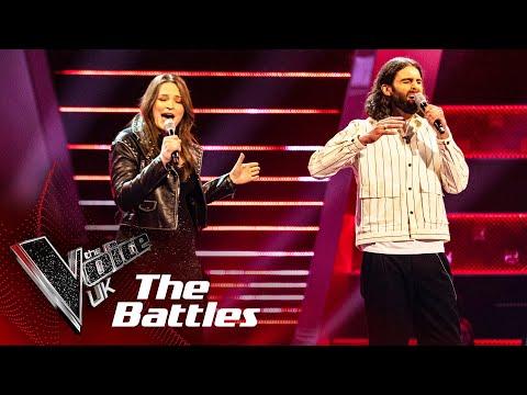 Jonny Brooks VS Lara Anstead - 'Us'  | The Battles | The Voice UK 2020