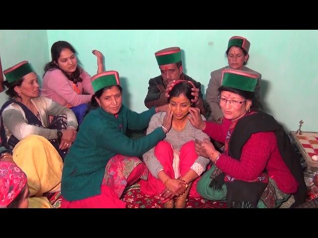Kinnauri latest DERYANS beautifull wedding ceremony (Chagaon)