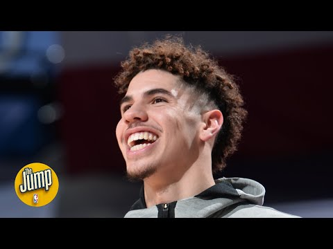 LaMelo Ball says he's such a good rebounder because he played a lot of twenty-one   The Jump