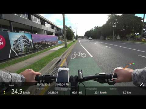 Brisbane CBD Bike Ride 2017