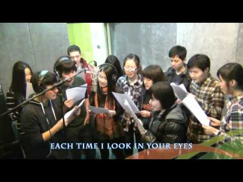 Chinese fans singing Unbreakable for Westlife
