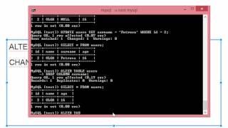 Урок по SQL ALTER TABLE, Псевдонимы SQL