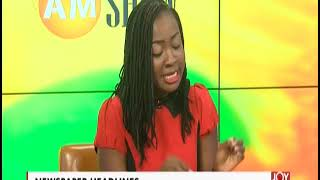 Ghana Makes Progress - AM Show Headlines on JoyNews (16-4-19)