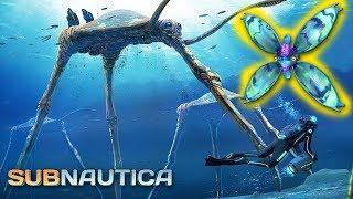 Subnautica - МОРСКОЙ ТОПТУН, ЗАТЕРЯННАЯ РЕКА, ЛЕВИАФАН ПРИЗРАК, НИКЕЛЬ #19