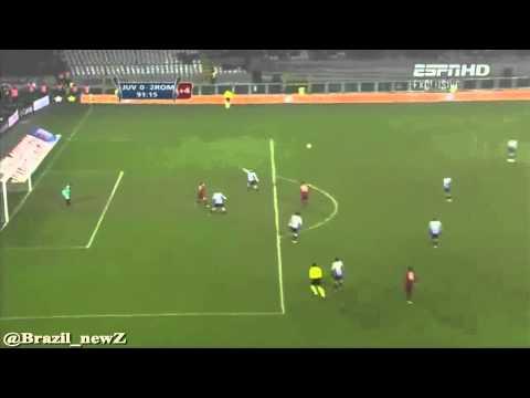 Rodrigo Taddei vs Juventus FANTASTIC GOAL