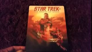 My Movies: STAR TREK II: THE WRATH OF KHAN Steelbook