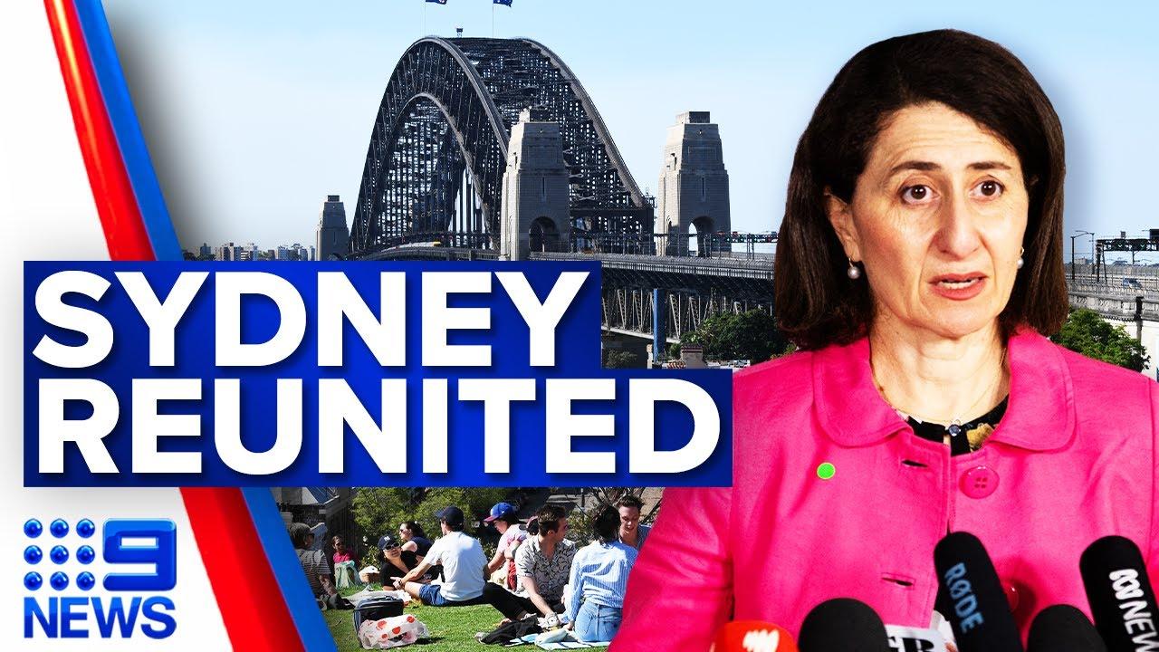 Sydney hotspot LGAs given more freedoms  Coronavirus  9 News Australia
